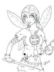 Evil Pixie by PMDallasArt