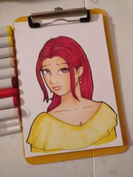Quick sketch of Delloria