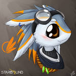 Starbound #1 Rumi, The Traveling Avali (Colored)