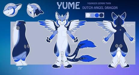 Yume the gemini twin dutch angel dragon