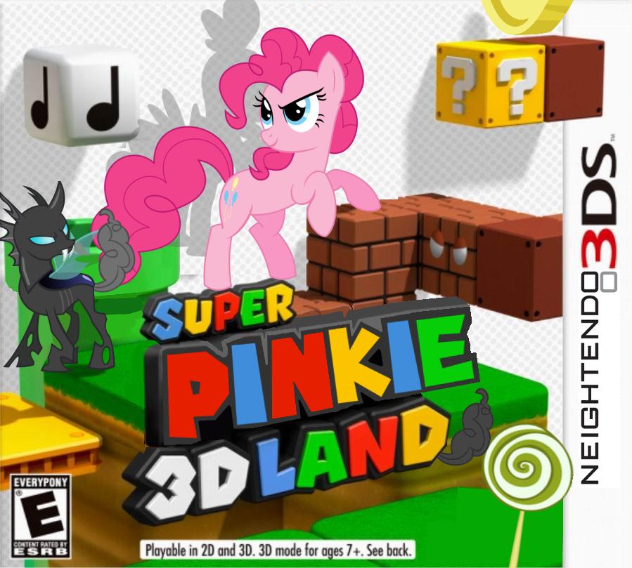 Super Pinkie 3D Land by nickyv917