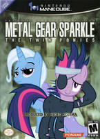Metal Gear Sparkle: The Twin Ponies by nickyv917