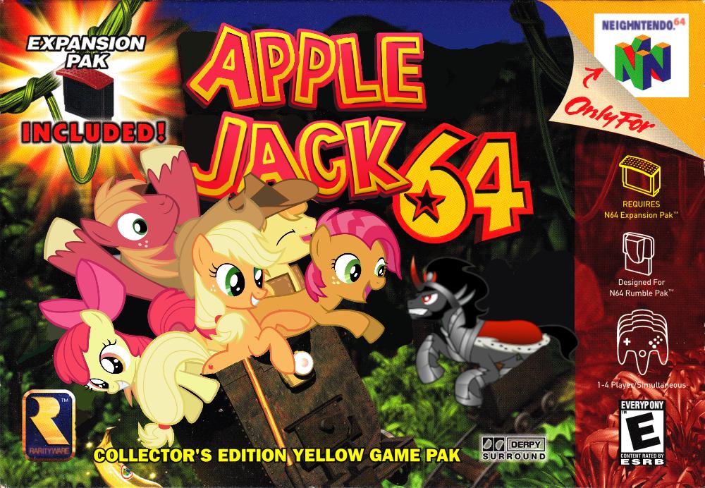 Apple Jack 64 by nickyv917