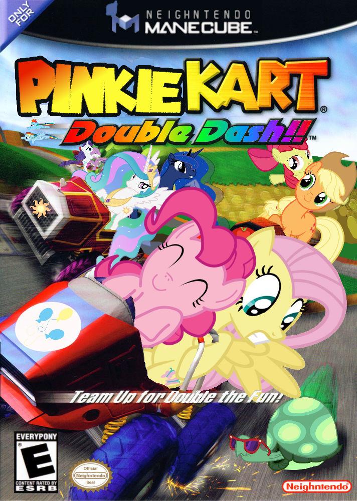 Pinkie Kart Double Dash Version 2 By Nickyv917 On Deviantart