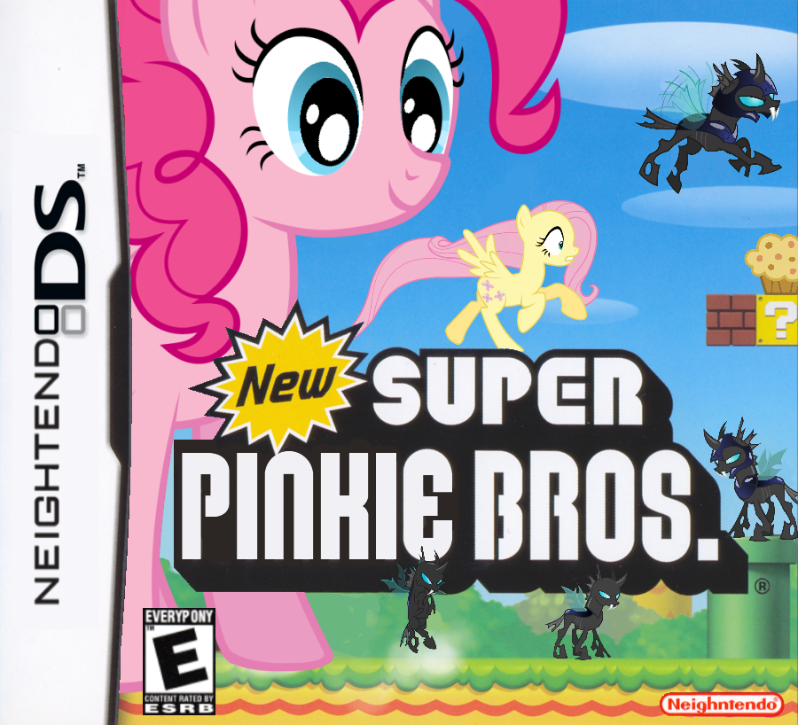 New Super Pinkie Bros. by nickyv917