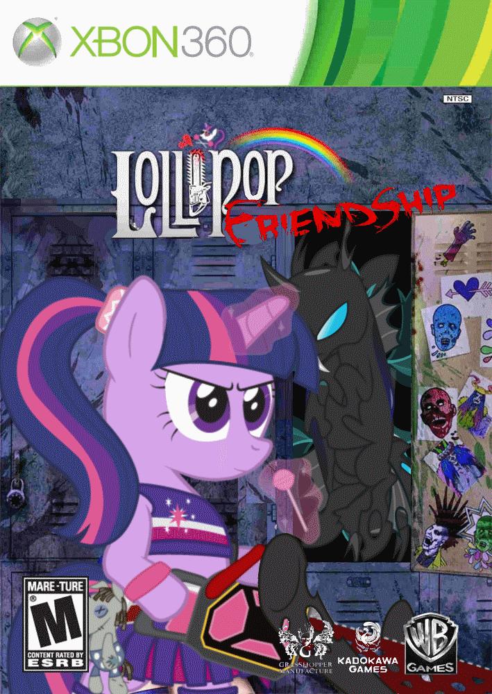 Lollipop Friendship by nickyv917