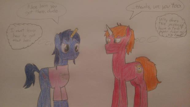 Phantom Horn meets Texeirax