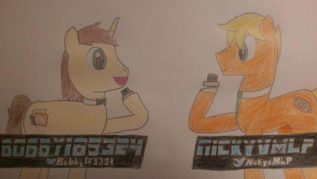 Sports Commentators Bobby and Nicky by nickyv917