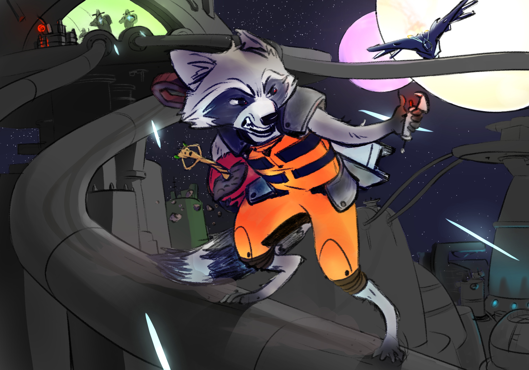 Groot rescue by Bursaroo
