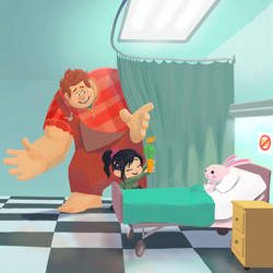 Hospital visit by Bursaroo