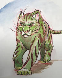 A battle cat by Bursaroo