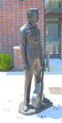 Bronze Johnny Cash