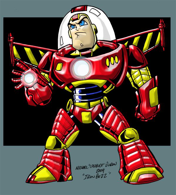 Iron Buzz by Locoduck