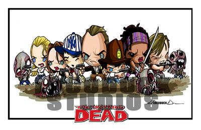 Walking Dead Sugar Boogarz by Locoduck