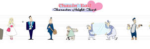 Chasin' Tail Height Chart