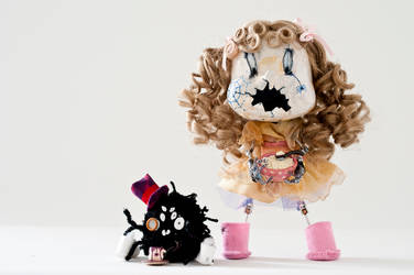 Little Miss Muffet and Spider