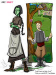 Wicked - Book illustration