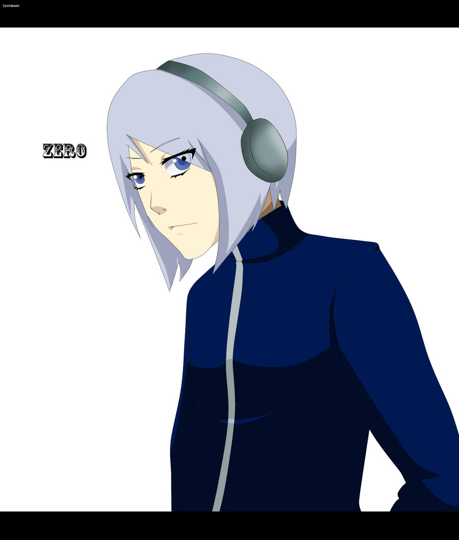 N Anime Character : If zero was an anime character by epickakashi on deviantart