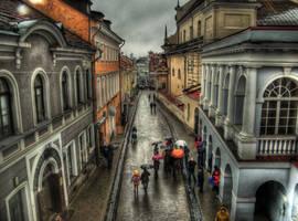 Vilnius City Life by afron