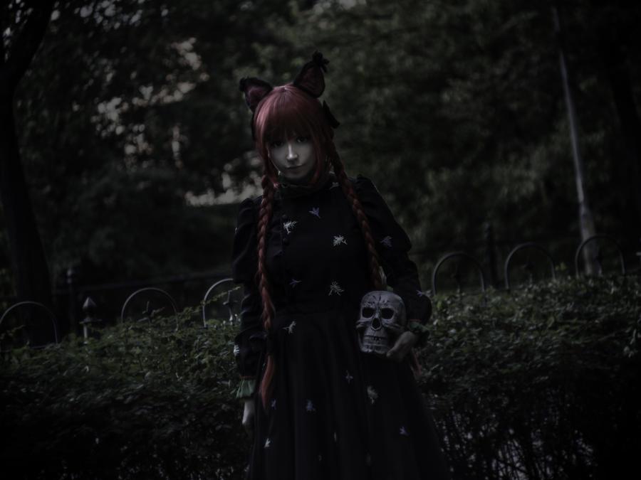 Touhou Project: Rin Kaenbyou (Orin) by Marusera-Yumeart