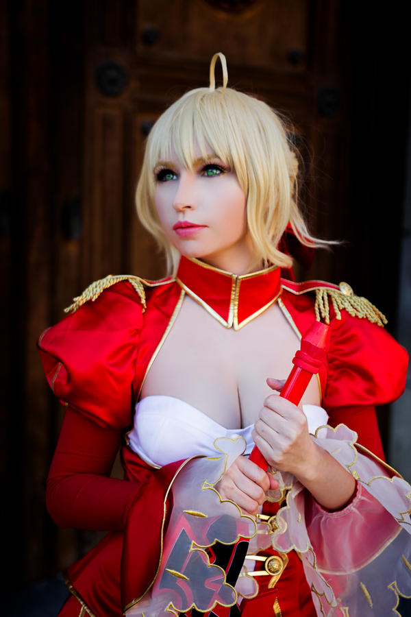 Fate/Extra: Nero Claudius (Saber) by Marusera-Yumeart