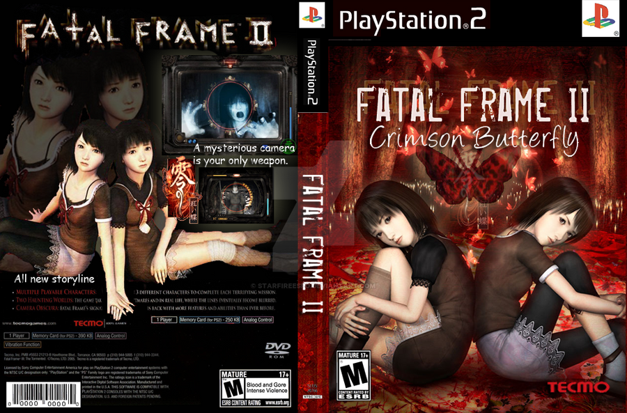 Fatal Frame Cover - Frame Design & Reviews ✓