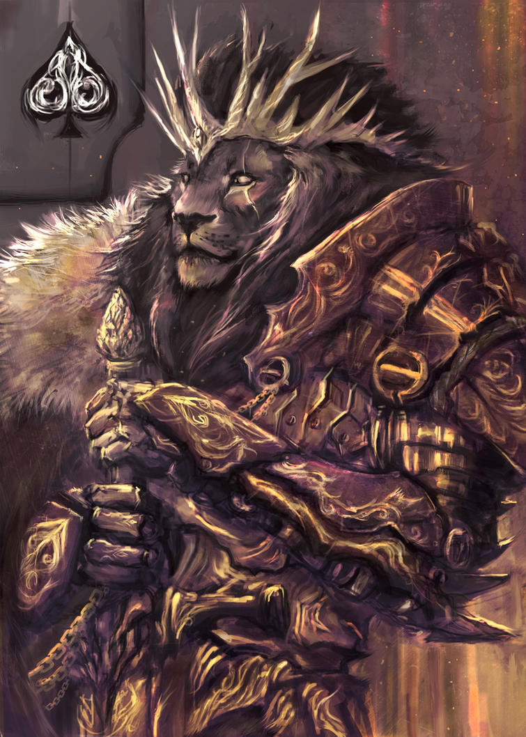 King of Spades by shimhaq98