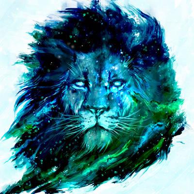 Cosmic Lion