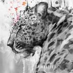 Inktober 2 - Arabian Leopard