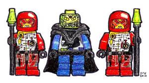 Lego UFO Leader