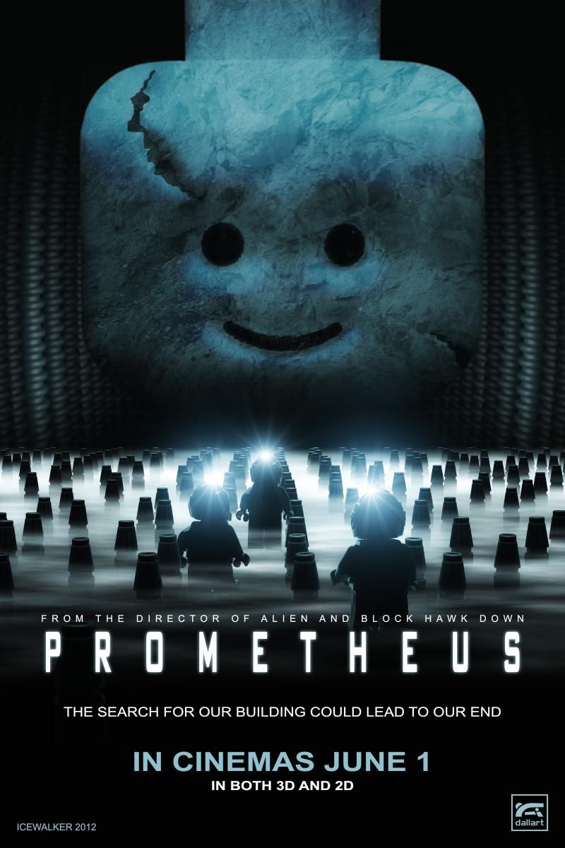 LEGO Prometheus Poster by Icewalkerman