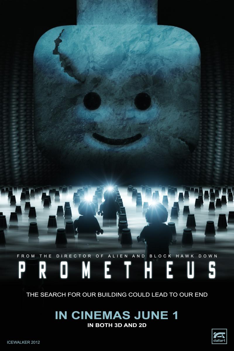 LEGO Prometheus Poster