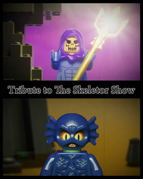 LEGO Tribute to The Skeletor Show