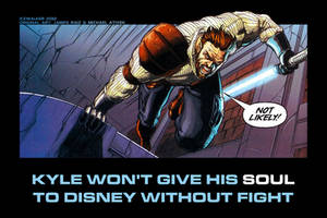 Kyle Katarn's opinion on Disney and Lucasfilm by Icewalkerman