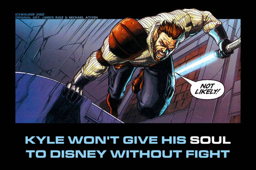 Kyle Katarn's opinion on Disney and Lucasfilm