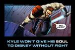 Kyle Katarn's opinion on Disney and Lucasfilm