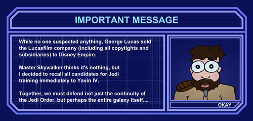 Important message from Master Katarn