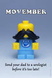 LEGO Movember by Icewalkerman