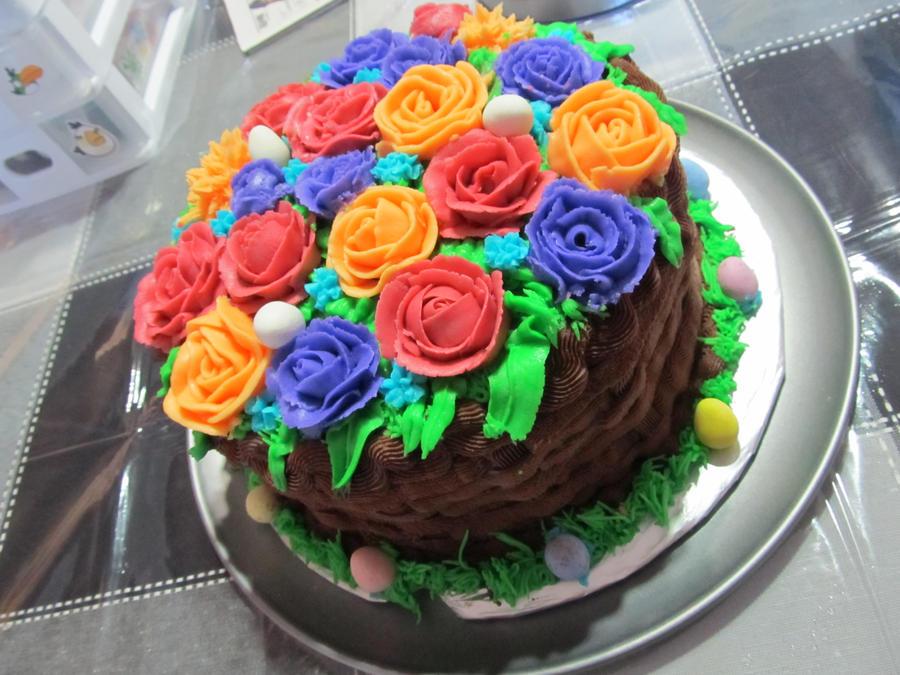 Easter basket cake by leara on deviantart easter basket cake by leara negle Gallery