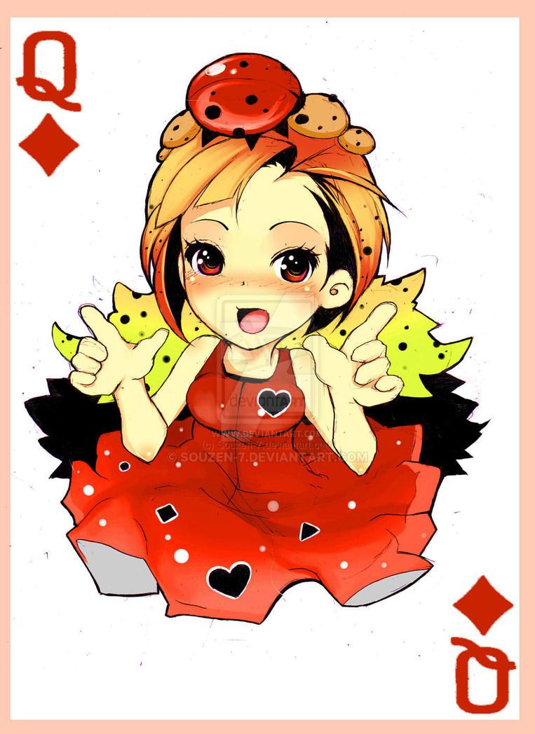 Card Of Queen by Souzen-7