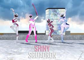 Shiny Squadron by TRAGICHEROINESCOMICS