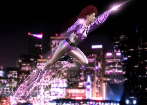 Neon Star Flight