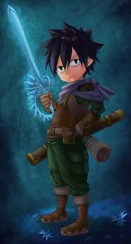 Fairy Tail Ice adventurer