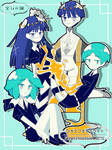 Houseki no Kuni PHOSPHOPHYLLITE