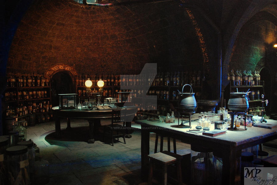 Harry Potter Potions Classroom By Miriampeuser On Deviantart