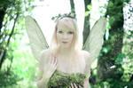 Fairy Lights: Day Edition (self-portrait)