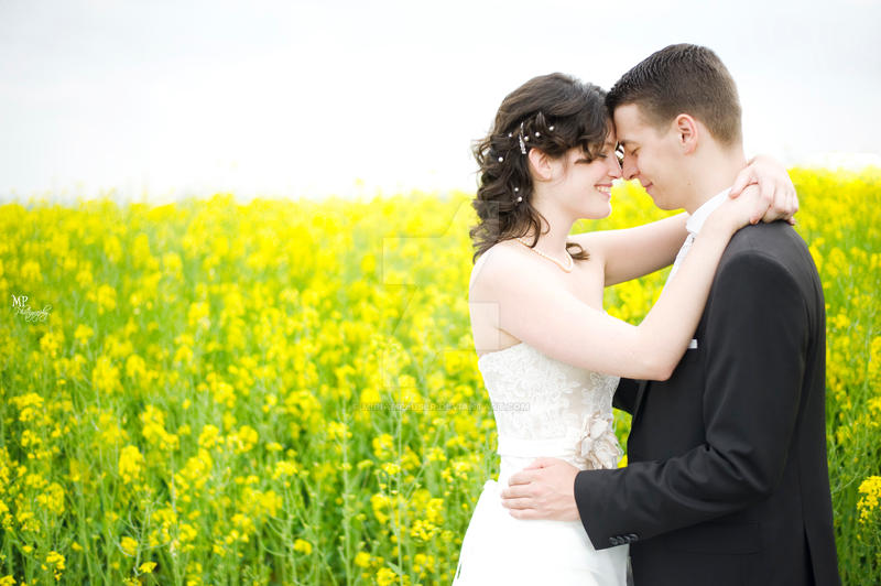 Yellow Fields WEDDING by MiriamPeuser