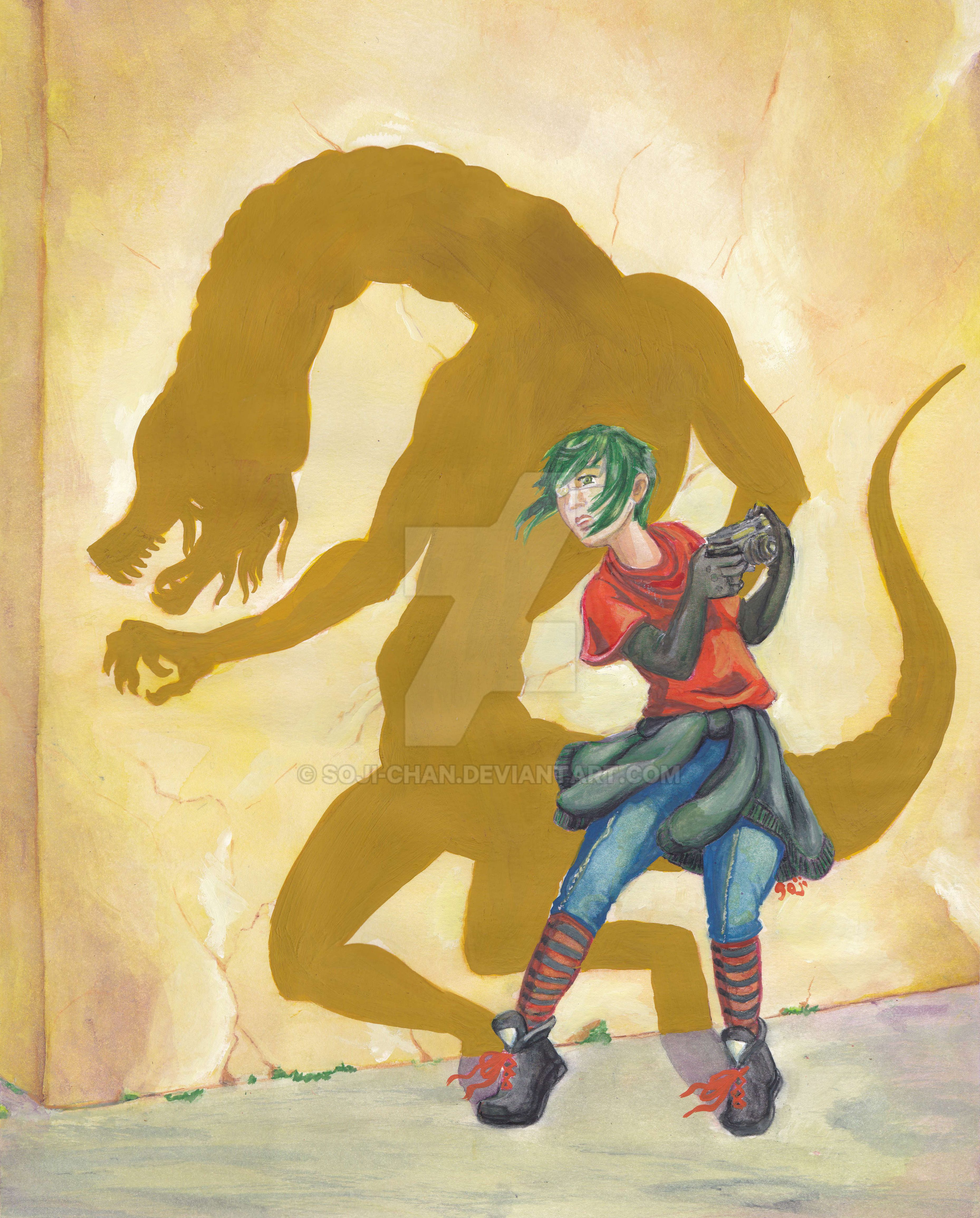 The Beast within by Soji-chan