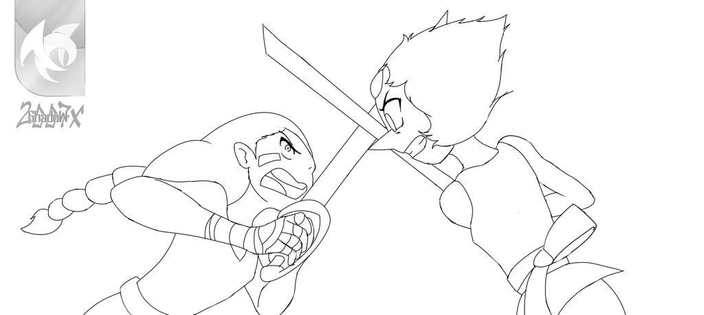 Pearl vs Connie by shadow2007x