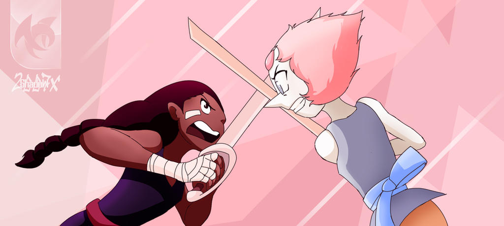 Connie vs Pearl Clor by shadow2007x